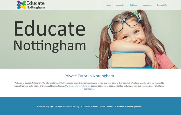 Private Maths and English Tutor In Nottingham