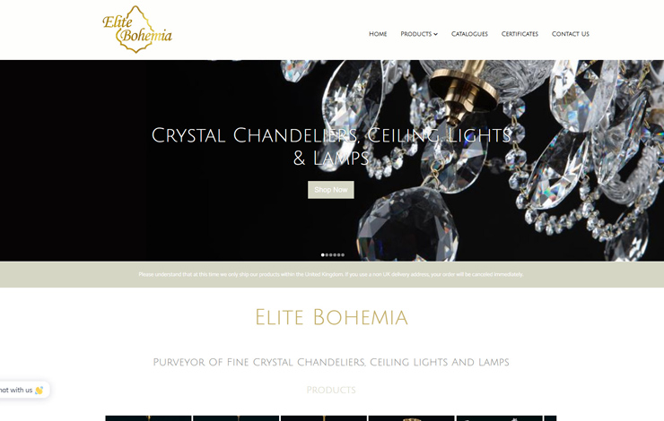 Crystal Chandeliers Ceiling Lights And Lamps | Elite Bohemia