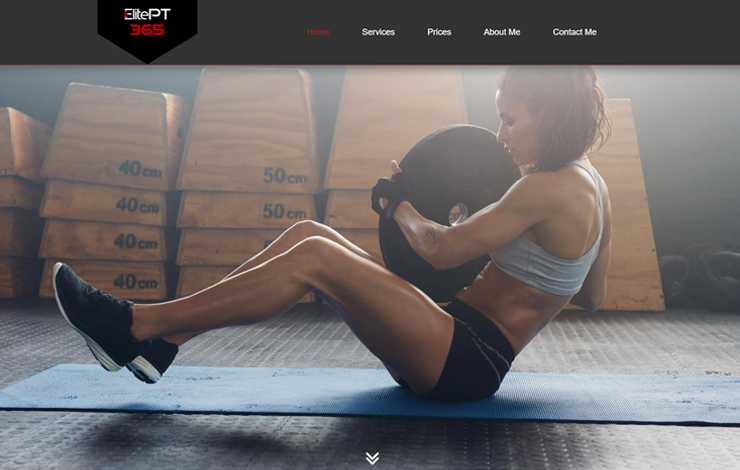 Website Design for Personal Trainer in Ruislip | Elite PT 365