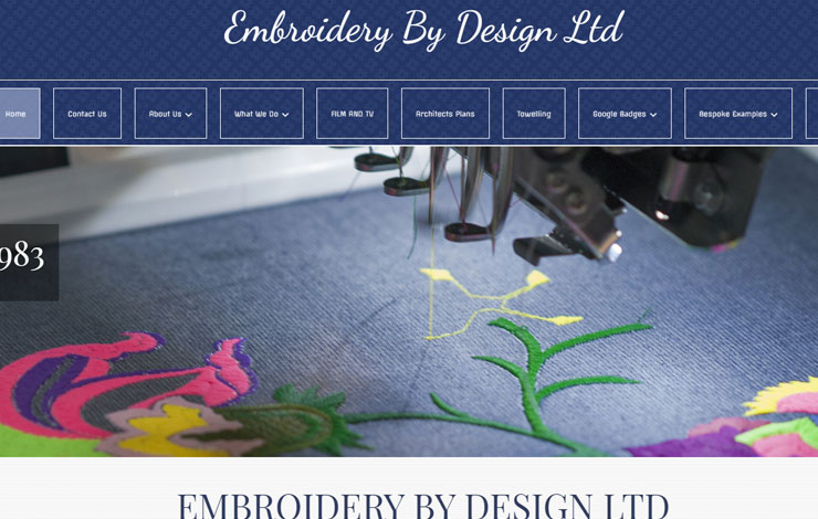 Extra Large Embroidery In Perivale And West London