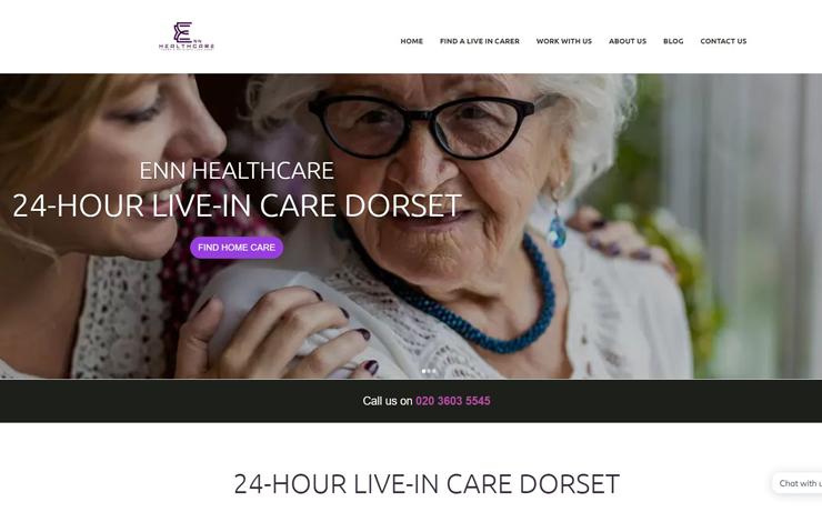 Home | ENN Healthcare | 24 Hour Live-in Care Dorset