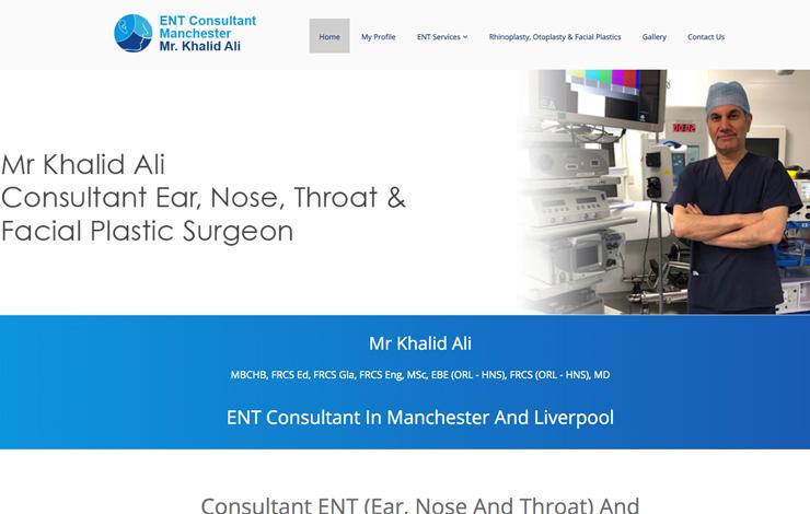 ENT Consultant Manchester | Dr Khalid Ali