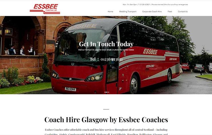Essbee Coaches | Coach Hire Glasgow