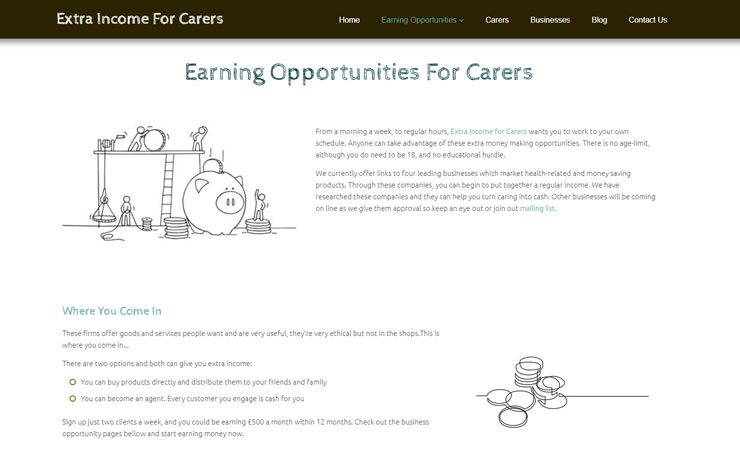 Extra income for carers