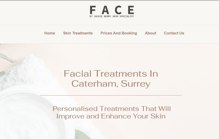 Face By Jackie Berry | Facial Treatments in Caterham, Surrey