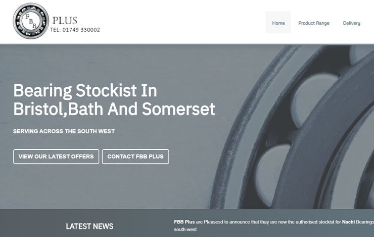 Bearings Stockist in Bristol and Bath | FBB PLus