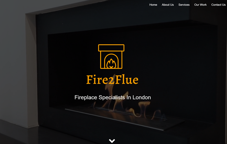 Website Design for Fireplace Specialists in London