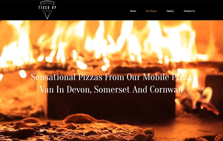 Mobile pizza van in Devon | Fired Up