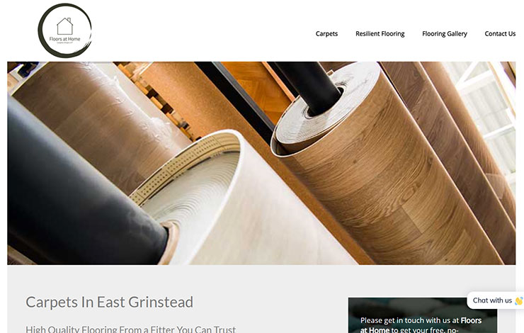 Floors at Home | Carpets in East Grinstead