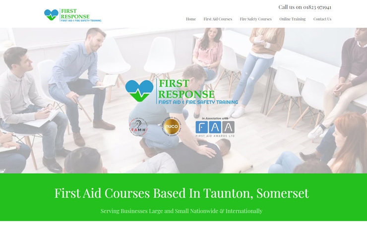 First Aid and Fire Safety Courses in Taunton | First Response