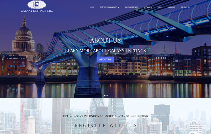 Website Design for Guaranteed Rent | Letting agent in London and South East