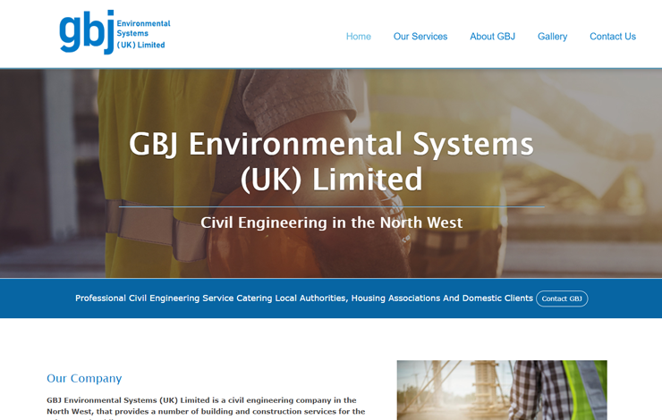 Civil Engineer in North West England | GBJ Environmental Systems Limited
