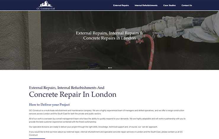 GC Construct Ltd | Concrete Repair in London