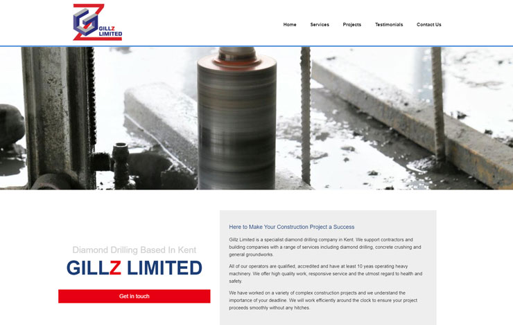 Gillz Limited | Diamond Drilling based in Kent