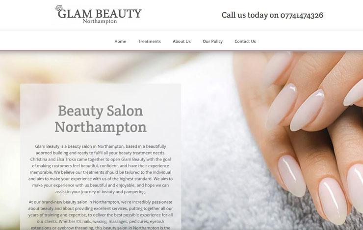 Beauty Salon in Northampton | Glam Beauty