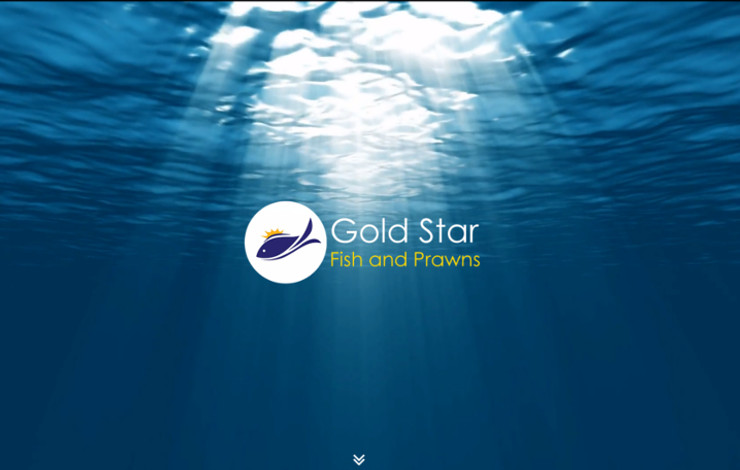 Website Design for Luxury Sea Food Importer In London