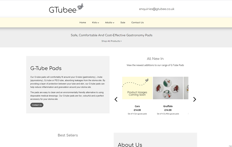 G Tube Pads | GTubee
