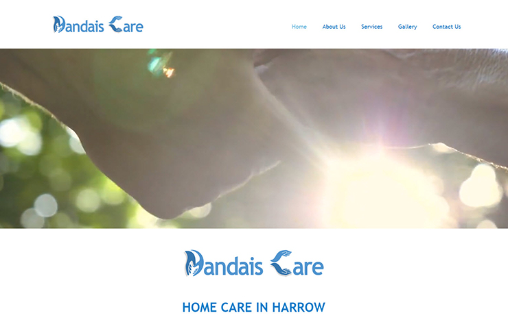 Website Design for Home care in Harrow, Hillingdon and Brent | Dandais Care