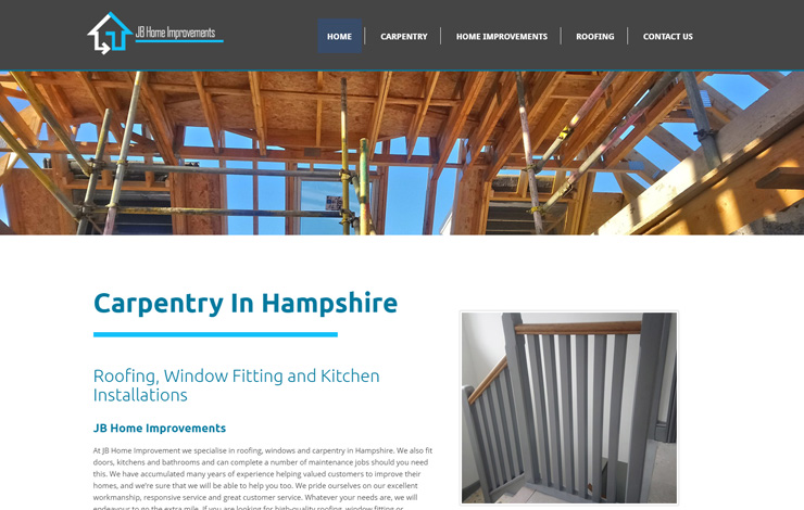 Carpentry in Hampshire | JB Home Improvement
