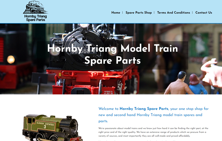 Hornby Triang Spare Parts | Vintage and Rare Model Train Parts