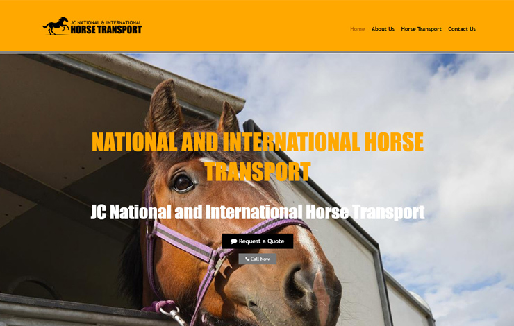 JC National and International Horse Transport