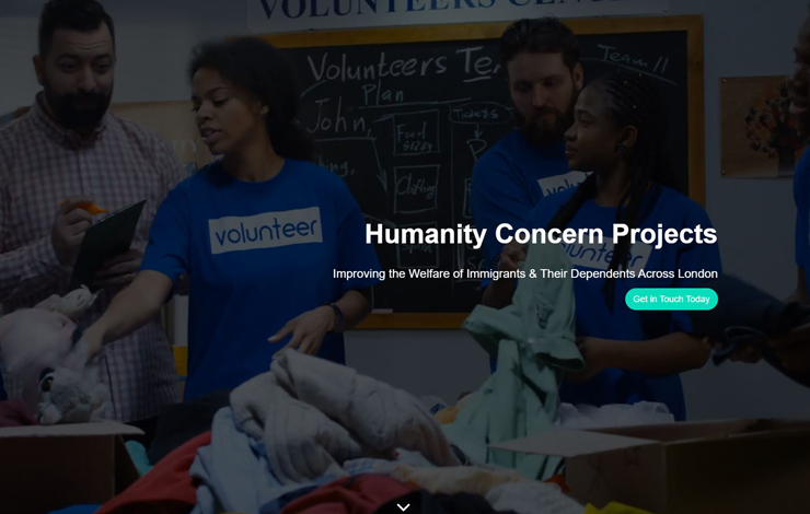 Humanity Concern Projects | Migrant Support London