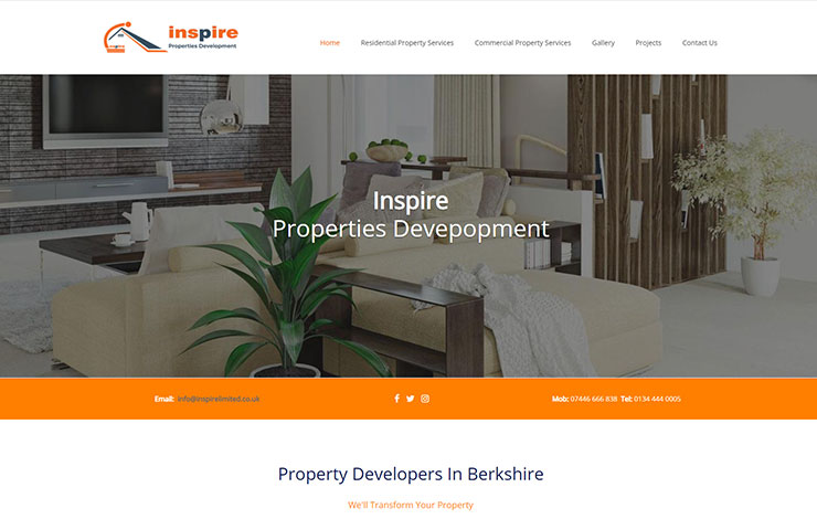Inspire Properties Development | Property Developers Berkshire