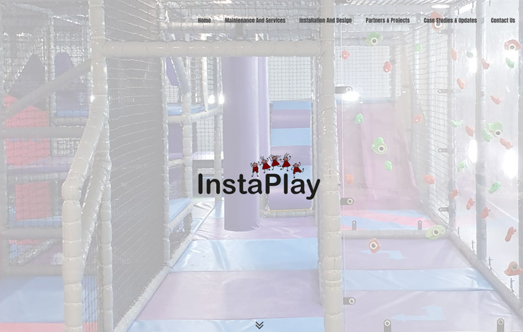 Website Design for Soft Play Services | InstaPlay