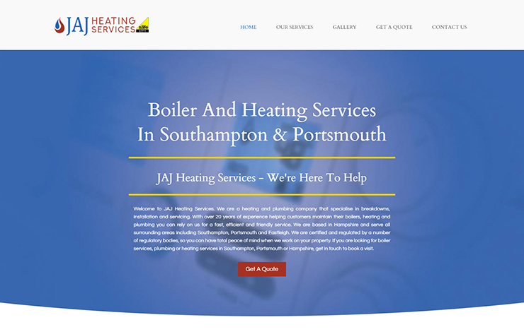 Boiler and heating services in Portsmouth