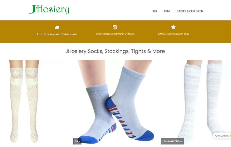 Online Hosiery Specialist | Socks stockings tights | JHosiery