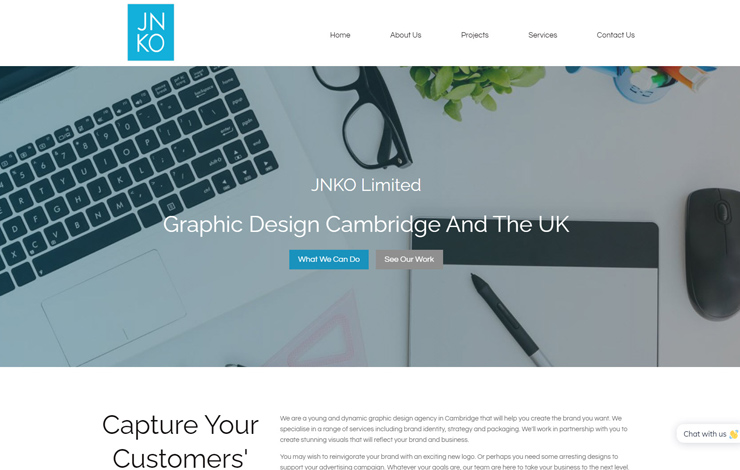 Graphic Design Cambridge | JNKO Limited