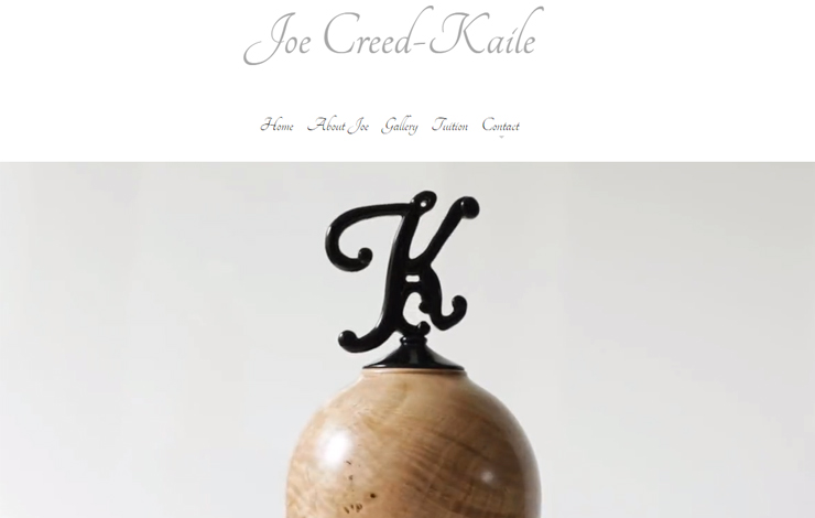 Woodturning Courses In Dorset | Joe Creed-Kaile Professional Woodturner