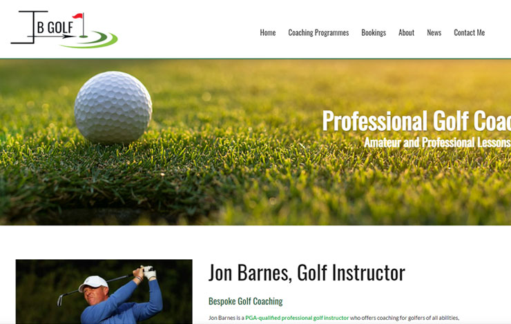 Professional Golf Instructor in Hayling | Jon Barnes Golf