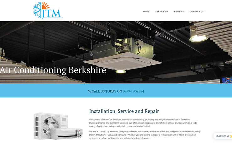 Air Conditioning Berkshire | JTM Aircon Services Berkshire