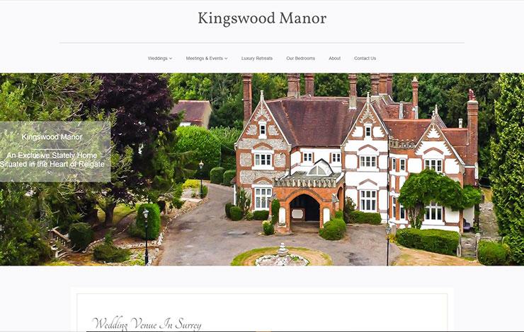 Kingswood Manor | Luxury Wedding Venue in Surrey