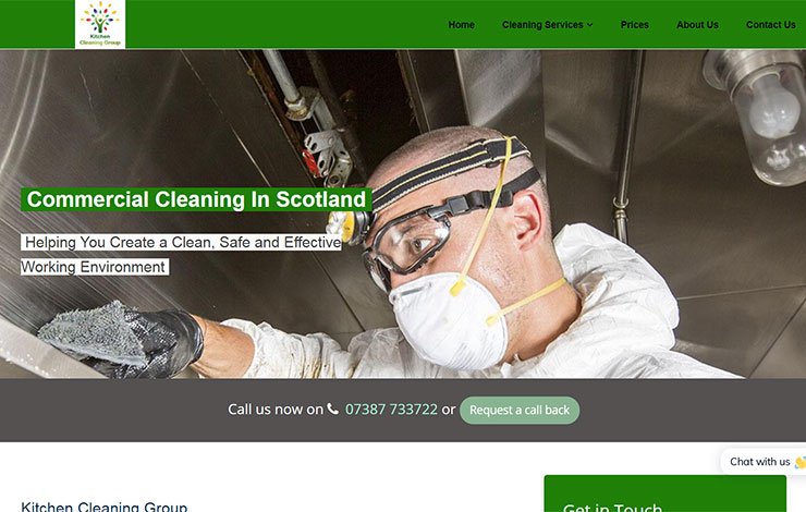 Commercial Cleaning in Scotland | Kitchen Cleaning Group