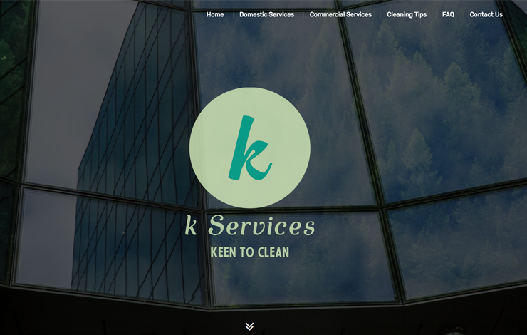 Website Design for Eco-friendly Cleaners in Reading | K Services
