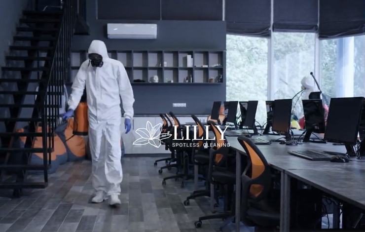 Website Design for Commercial Cleaning Services | Lilly Spotless Cleaning