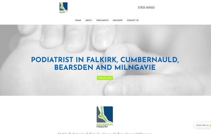 MacMorran Podiatry | Podiatrist in Falkirk
