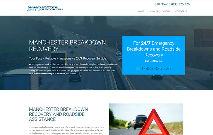 Manchester Breakdown Recovery | Manchester 247 Recovery