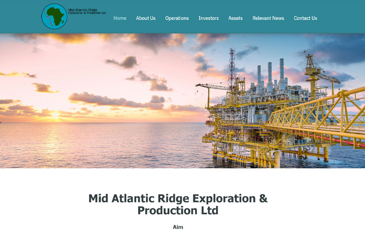 Website Design for Upstream Oil and Gas Company | MAREP Ltd