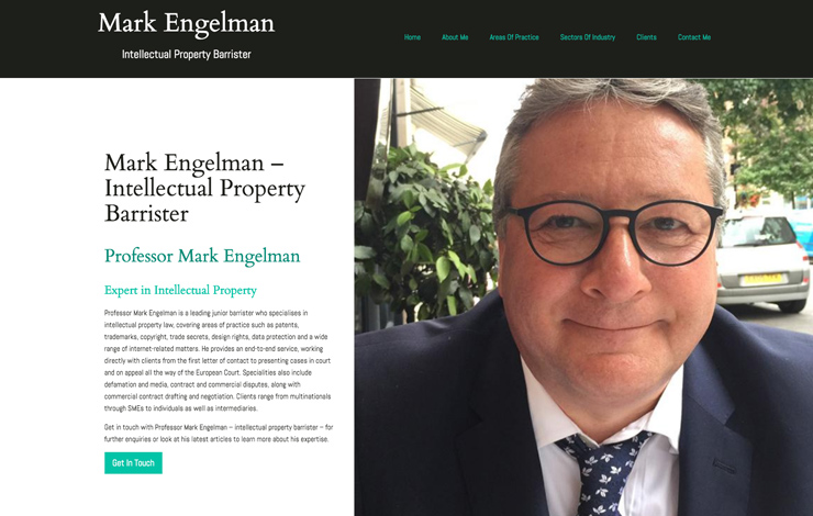Intellectual Property Barrister | Mark Engelman