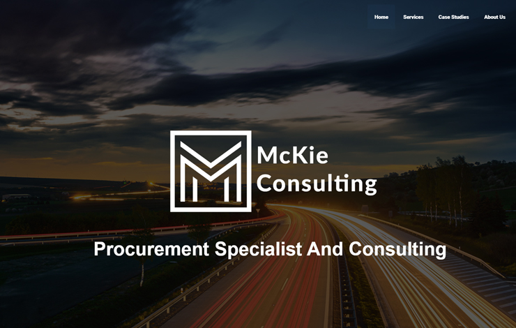 Website Design for Procurement Consultants For Local Authorities