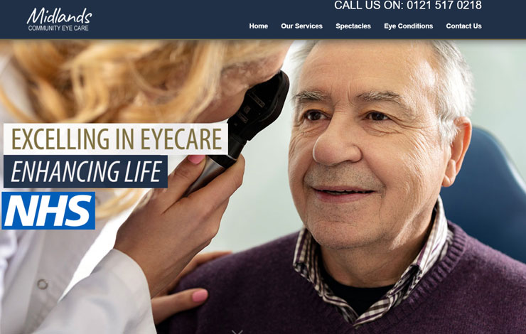 Midlands Community Eye Care | NHS Registered Opticians