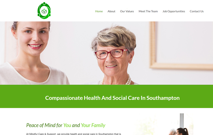 Health and Social Care in Southampton |Mindful Care