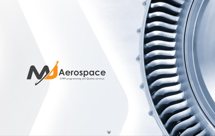 Website Design for CMM Programming in UK and Europe | MJ Aerospace