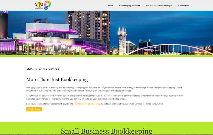 Small Business Bookkeeping | MJM Business Services