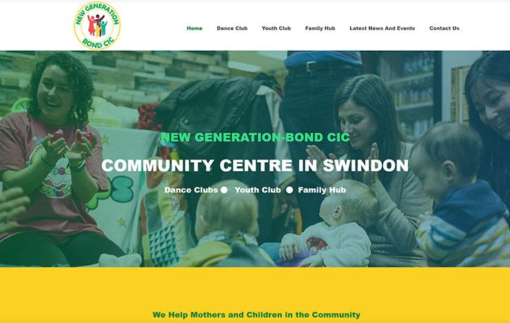 Community Centre Swindon | NEW GENERATION-BOND CIC