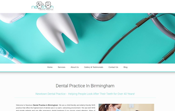 Newtown Dental | Dental Practice in Birmingham