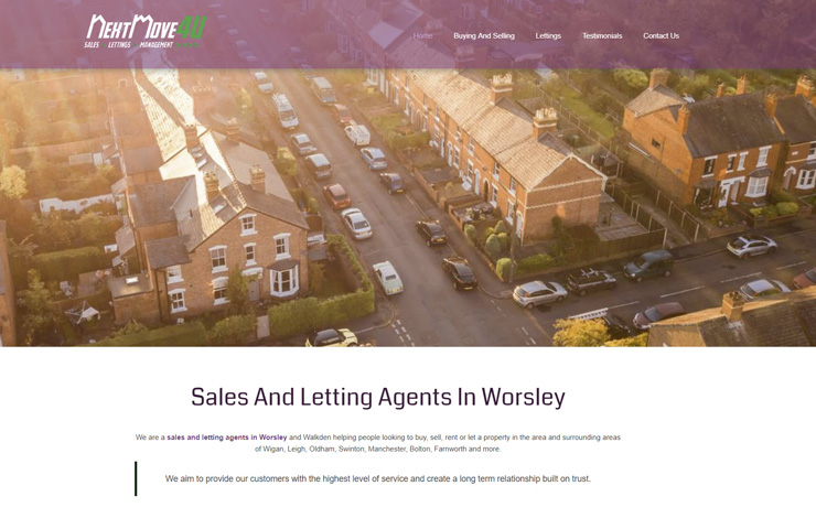 Property sales estate agent worsely